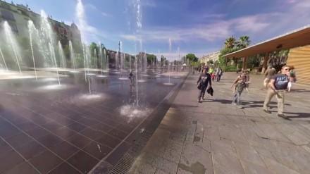 360° Video: Eine Fahrt durch Nizza in Südfrankreich