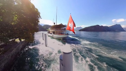 A 360° excursion on and around the lake of Lucerne