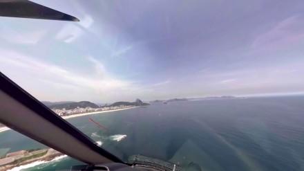 360° Video: Mit dem Hubschrauber und der Seilbahn über Rio