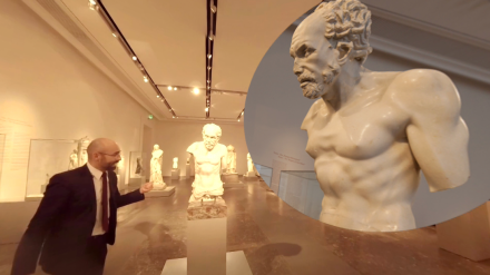 This 360° video is a short introduction to the collection of the Alte Museum in Berlin by Dr. Maischberger. The presentation is supported by photos and graphical elements.